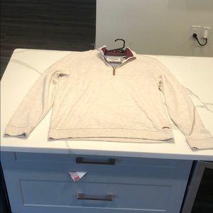 Men's Ted Baker London 1/4 Zip Sweater